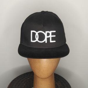 DOPE - snapback cap - NWT